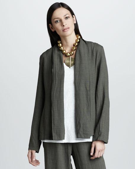 Basket-Weave Jacket