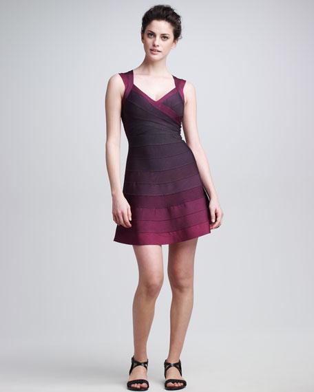 A-Line Bandage Dress