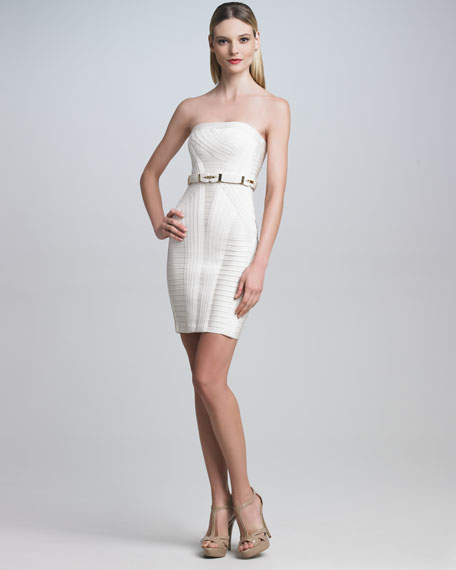 Belted Bandage Dress