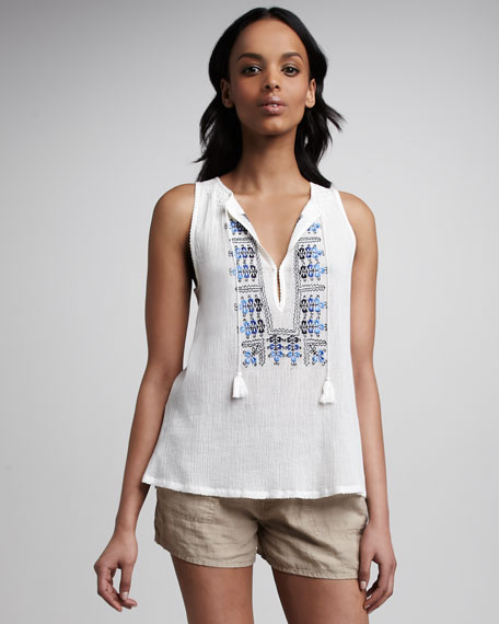 Kuna Embroidered Top