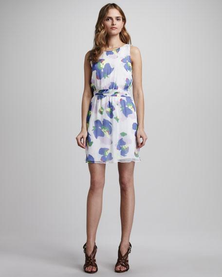 Camouflage Flower-Print Dress