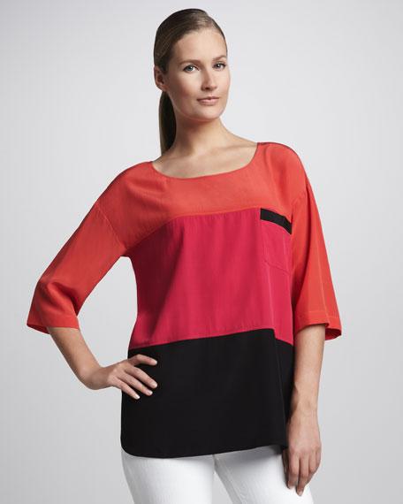 Colorblock Tunic, Women's