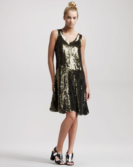Fete Sequined Dress