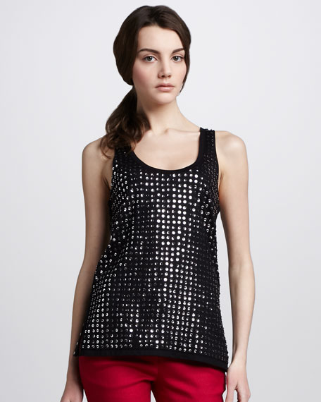Fran Sequined Tank