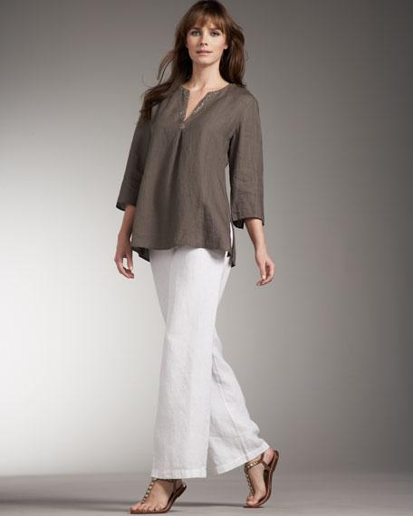 Linen Caftan Tunic