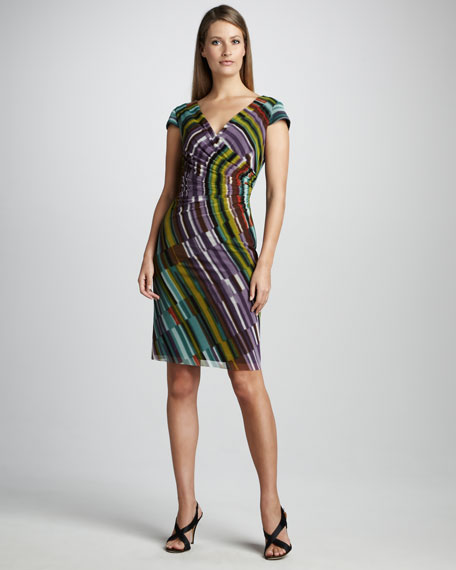 Side-Gathered Dress
