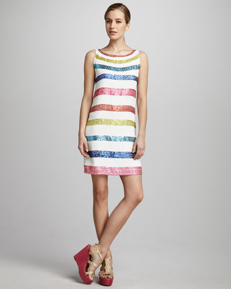Dallie Striped Dress