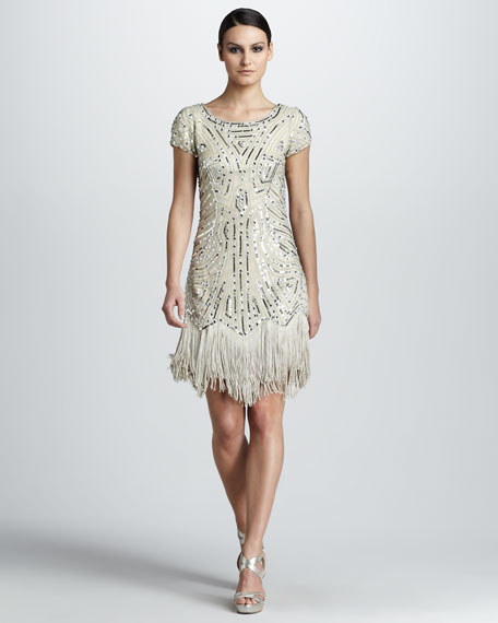 Fringed Cocktail Dress