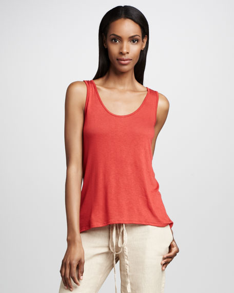 Scoop-Neck Tank