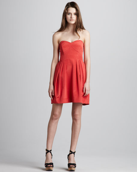 Megan Strapless Dress
