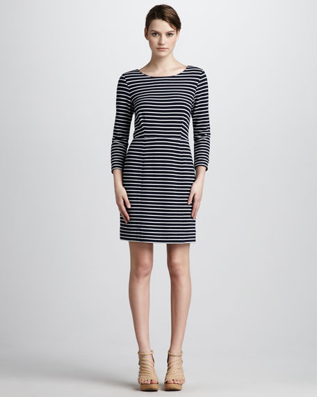 Bradley Striped Knit Dress