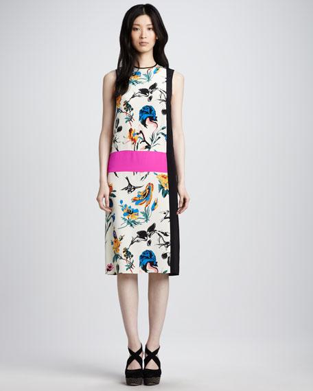 Sleeveless Colorblock Dress