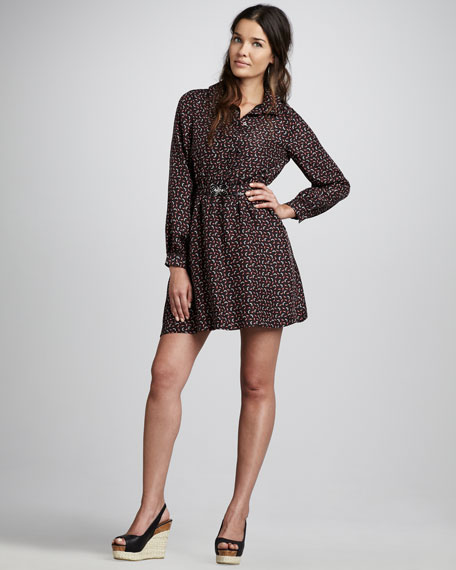 Blanche Printed Dress