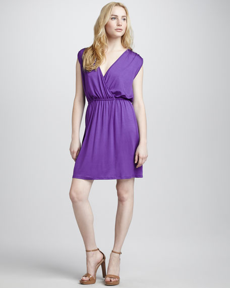 Aster Short-Sleeve Devotion Dress