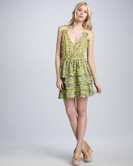 Palm Beach Printed Dress