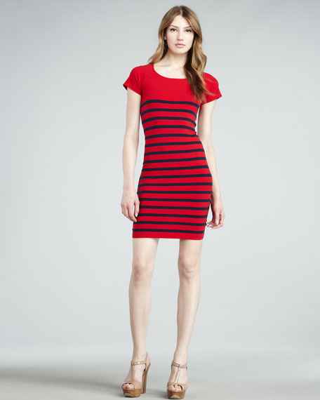 Nautical Striped Dress