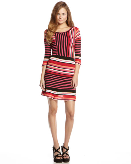 Multi-Striped Dress (CUSP Top Seller!)