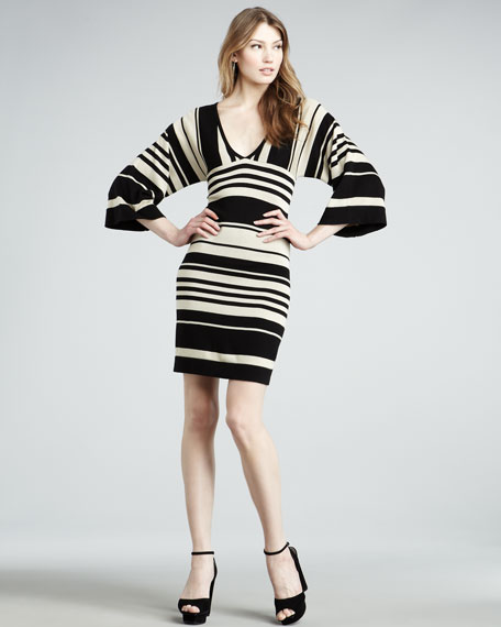 Bredene Striped Dress
