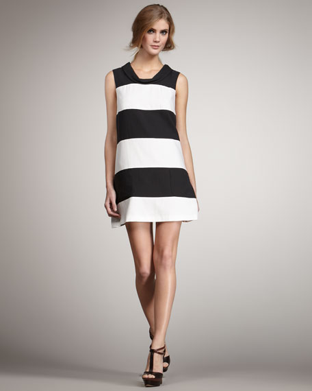Madison Colorblock Shift Dress