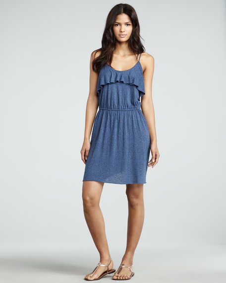 Ruffled Camisole Dress