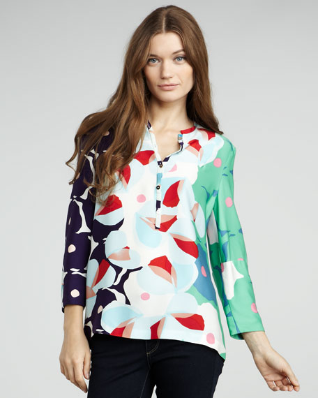 Whista Printed Blouse