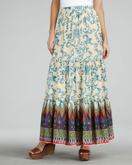 Printed Voile Maxi Skirt (CUSP Top Seller!)