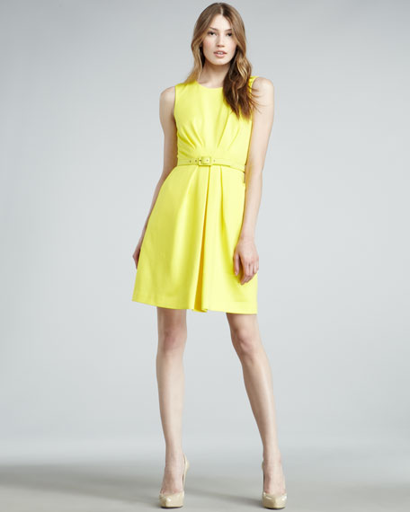 A-line Ponte Dress