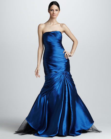 Strapless Mermaid Gown