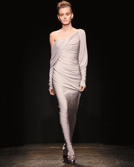 Evening Wrapsody Draped Dress