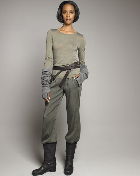 Stretch Slouchy Pants
