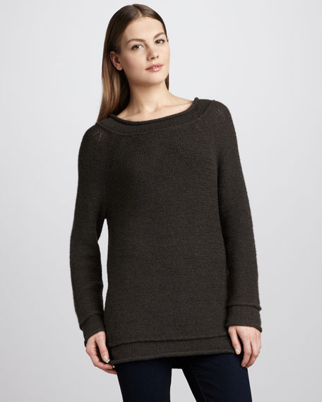 Long-Sleeve Slouchy Top