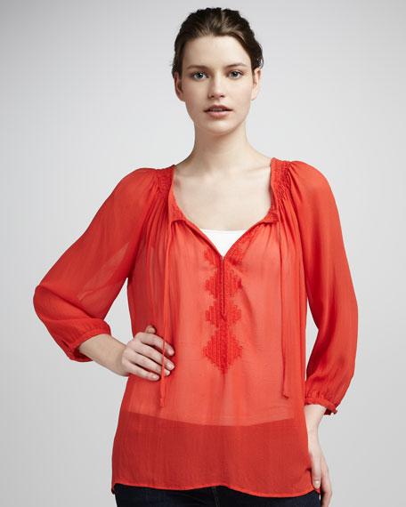 Aldridge Silk Blouse