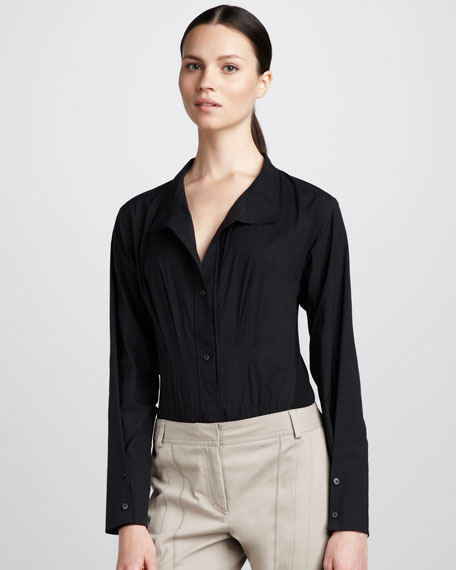 Jersey-Back Bodysuit