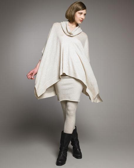 Cashmere-Blend Miniskirt