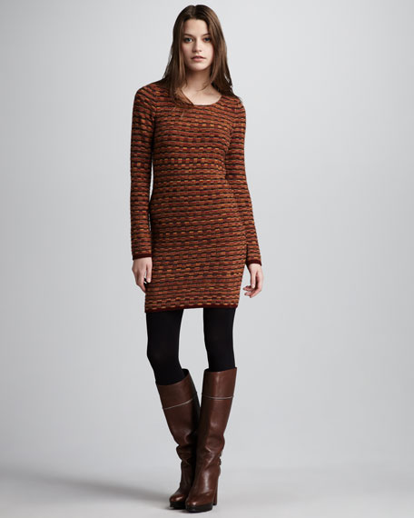 Harriet Fitted Knit Dress
