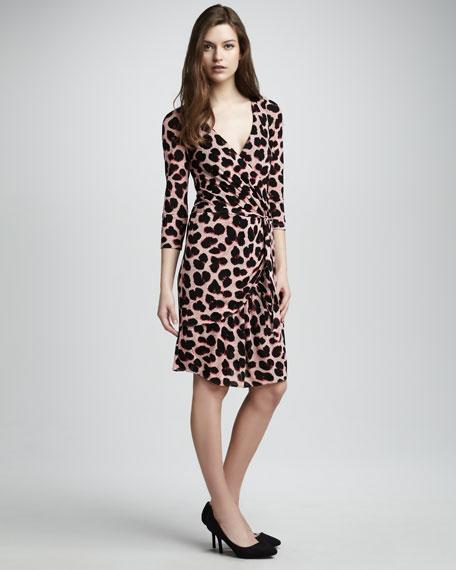 Felicity Leopard-Print Dress