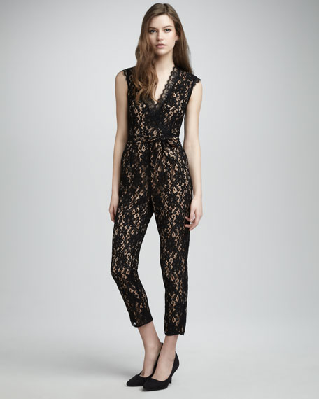 Kitty Lace Jumpsuit