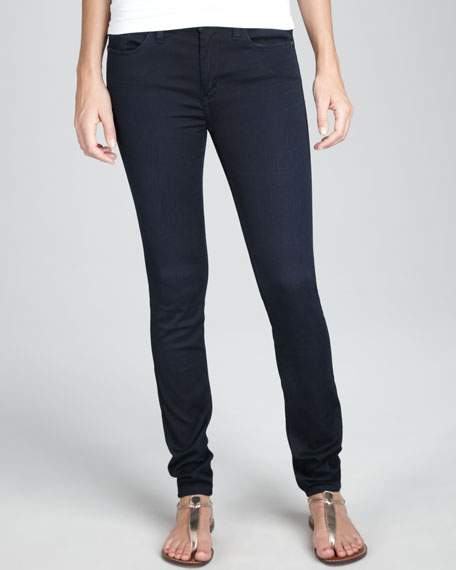 Home Affairs Skinny Jeans With Tonal Stitching