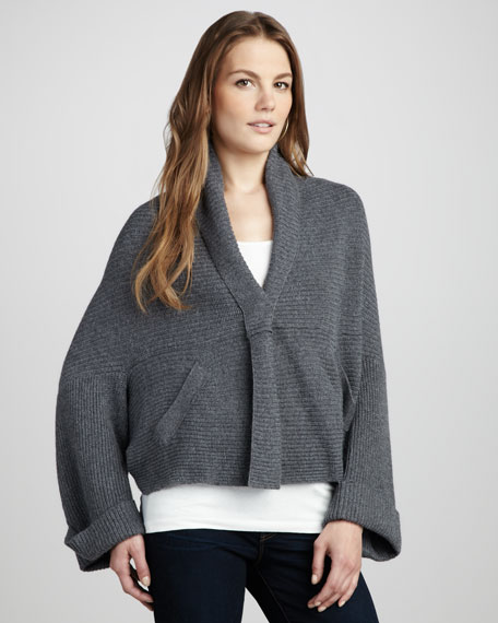 Boxy Cocoon Sweater
