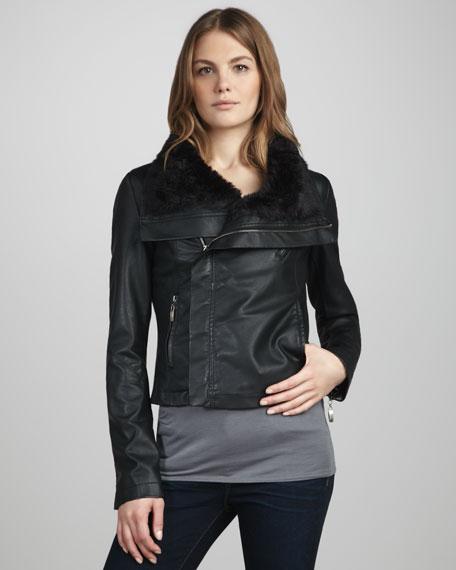 Payton Faux-Leather Jacket