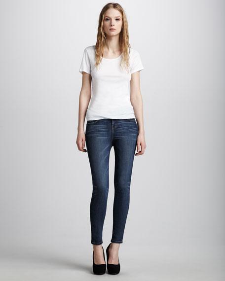 The High-Waist Skinny Townie Jeans