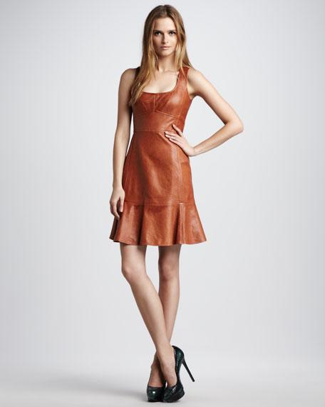 Stolen Kiss Leather Dress