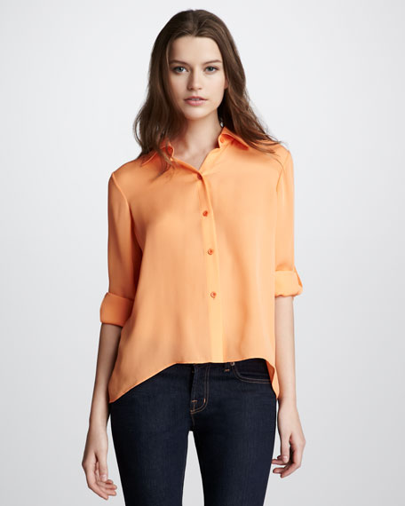 Arched Neon Blouse