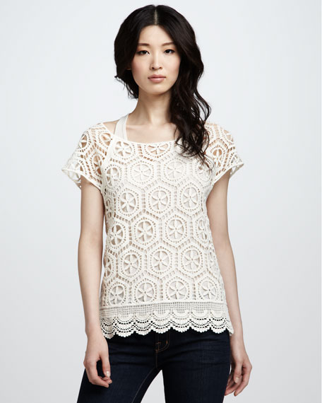 Charlotte Crochet Top