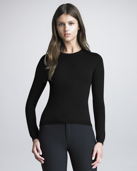 Cashmere-Silk Sweater