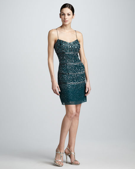 Beaded Cocktail Dress