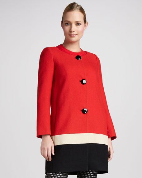 garby colorblock jacket