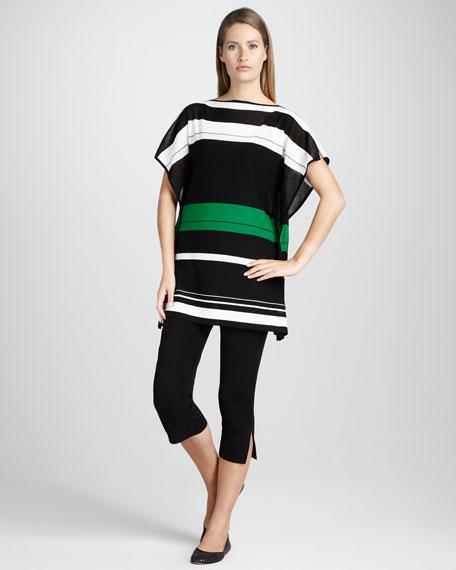 Striped Jersey Top, Women's