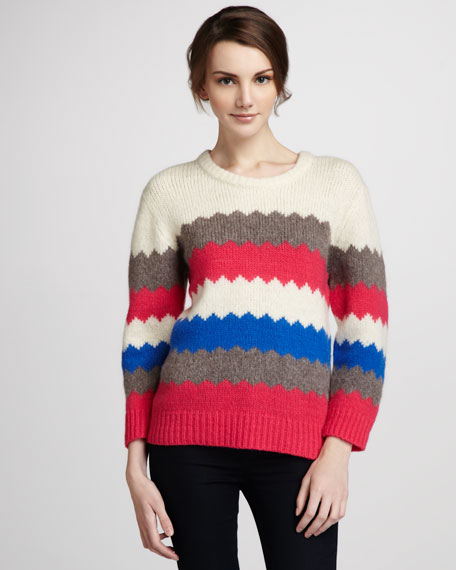 Nikolai Patterned Sweater