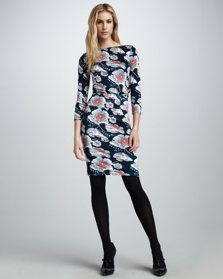Sheila Printed Dress